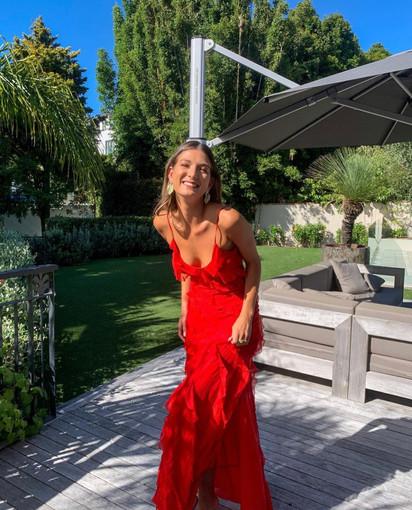 Rat & Boa | Cecelia Red Gown