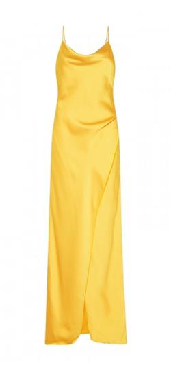 Aubrey Sunburst Slip Gown