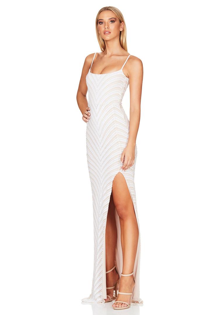 Zahara White Gown