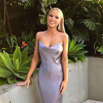 Natalie Rolt | Virgo Gunmetal Gown