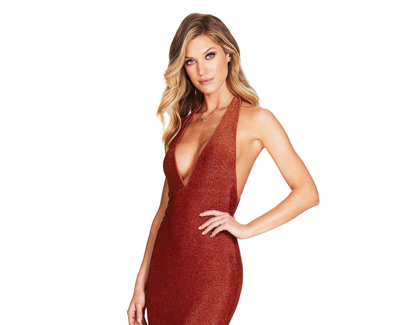 Fame Rust Gown