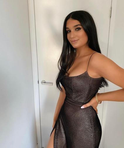 Harper Bronze Gown