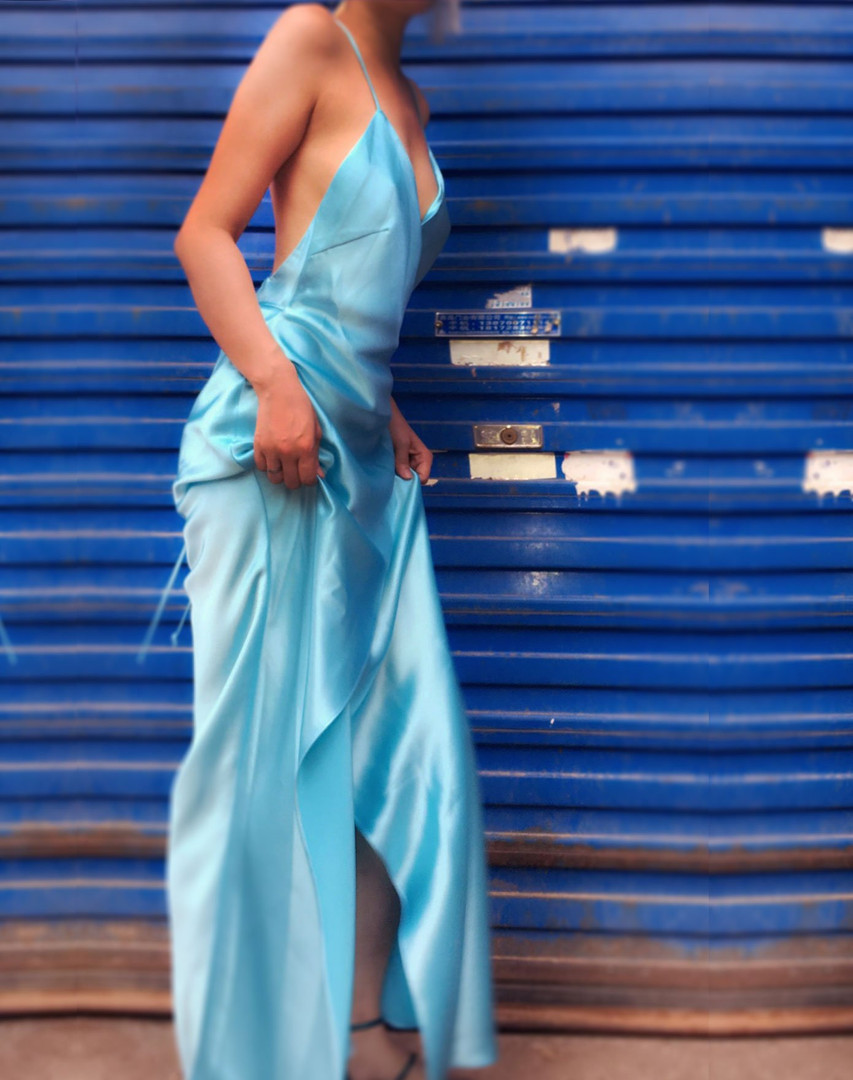 Carrie Serenity Blue Gown