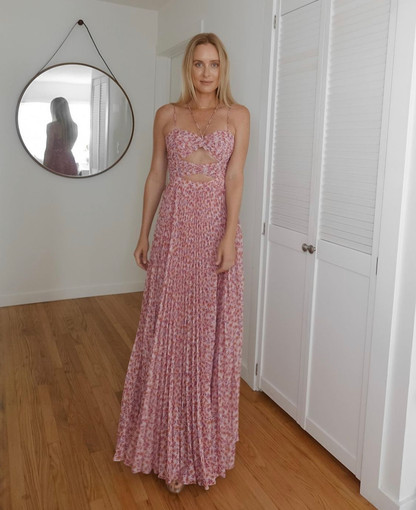 Amur the Label | Lana Dust Ditsy Rosa Gown