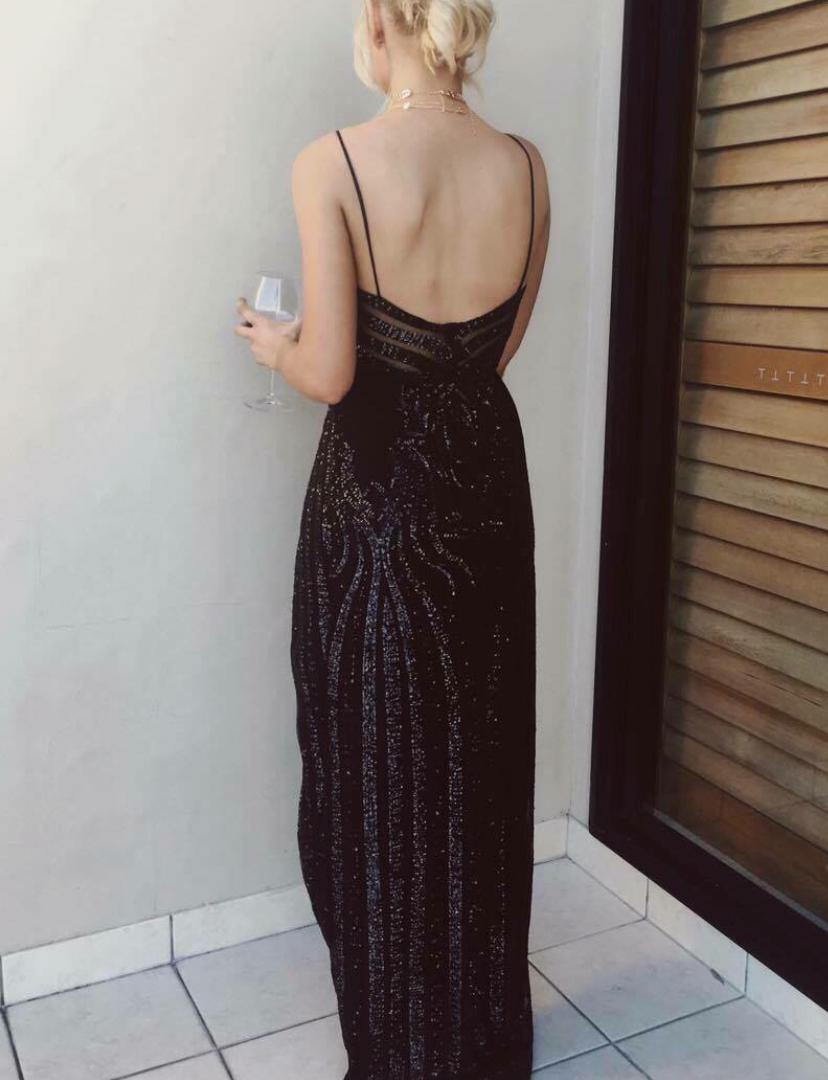Yves Lovell Black Gown