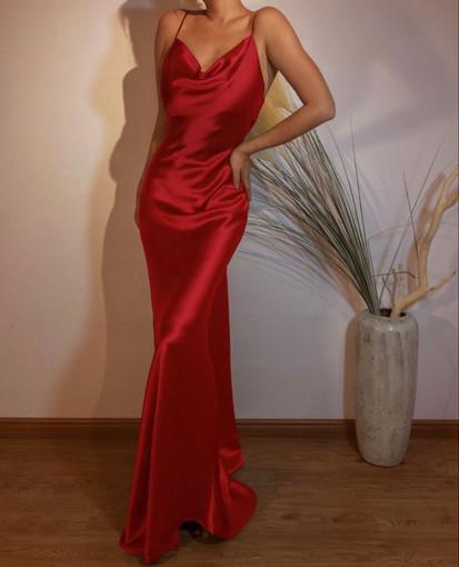 Exclusive | Blair Crimson Gown
