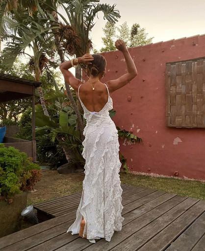 Gabriela White Gown