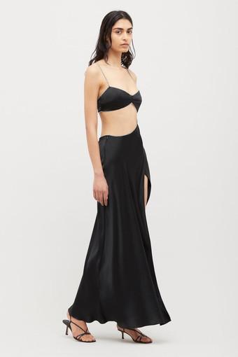 Michael Lo Sordo | Symic Bias Crystal Black Gown