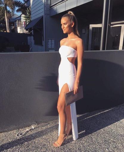 Argo White Gown