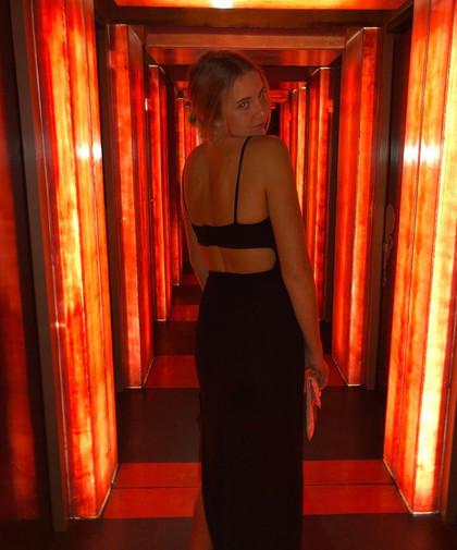 Karma Black Maxi Gown