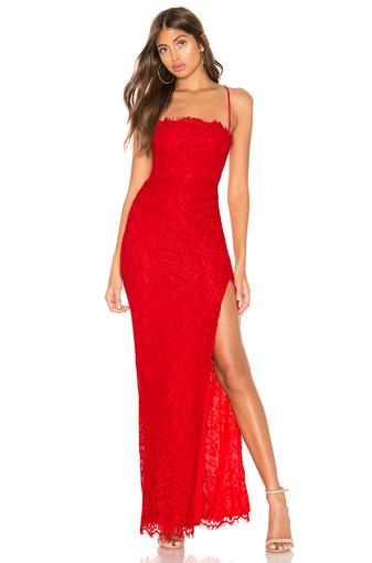 Majorelle | Tavi Red Gown