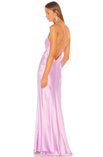 Bias Bubblegum Gown