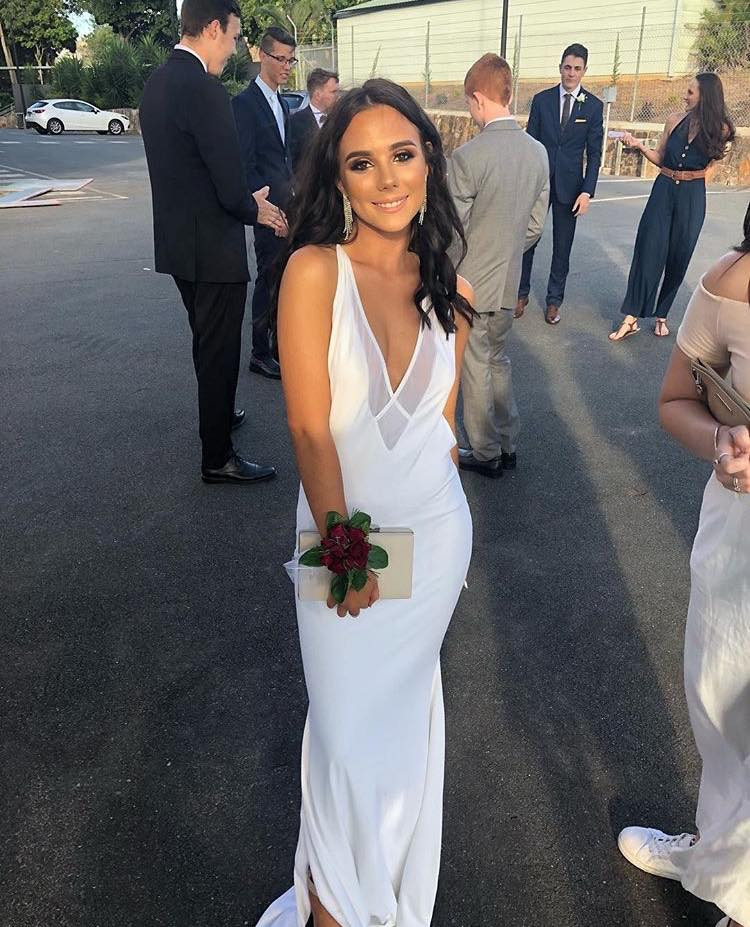 Dupeyroux White Gown