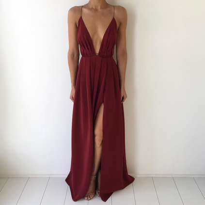 Natalie Rolt   Blossom Rust Gown