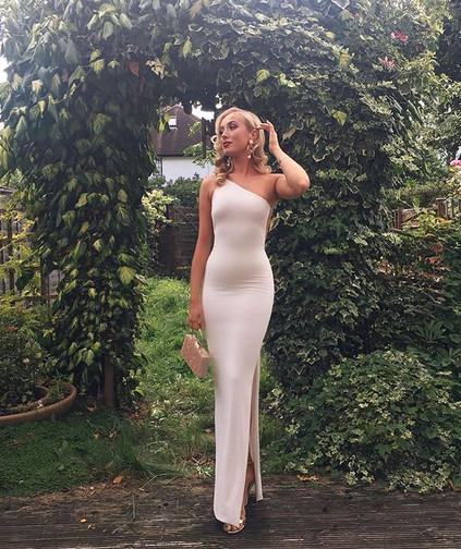 Tyra White Gown