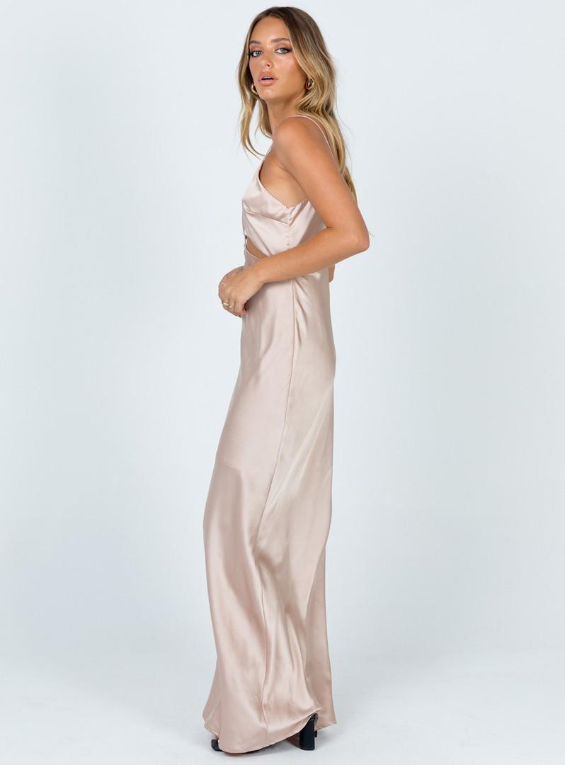 Larsa Champagne Gown