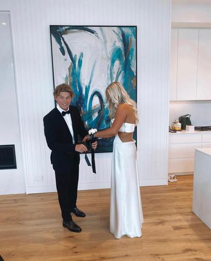 Exclusive   Sylvie White Gown