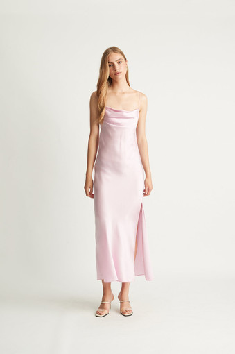 Ginia | Lexi Pink Gown