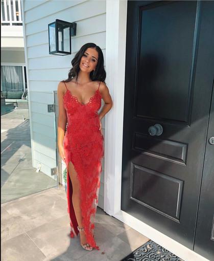 Gemeli Power | Motel Jay Scarlett Gown