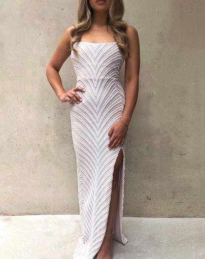 Nookie | Zahara White Gown