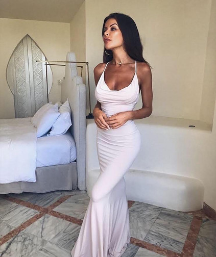 Hustle Nude Gown