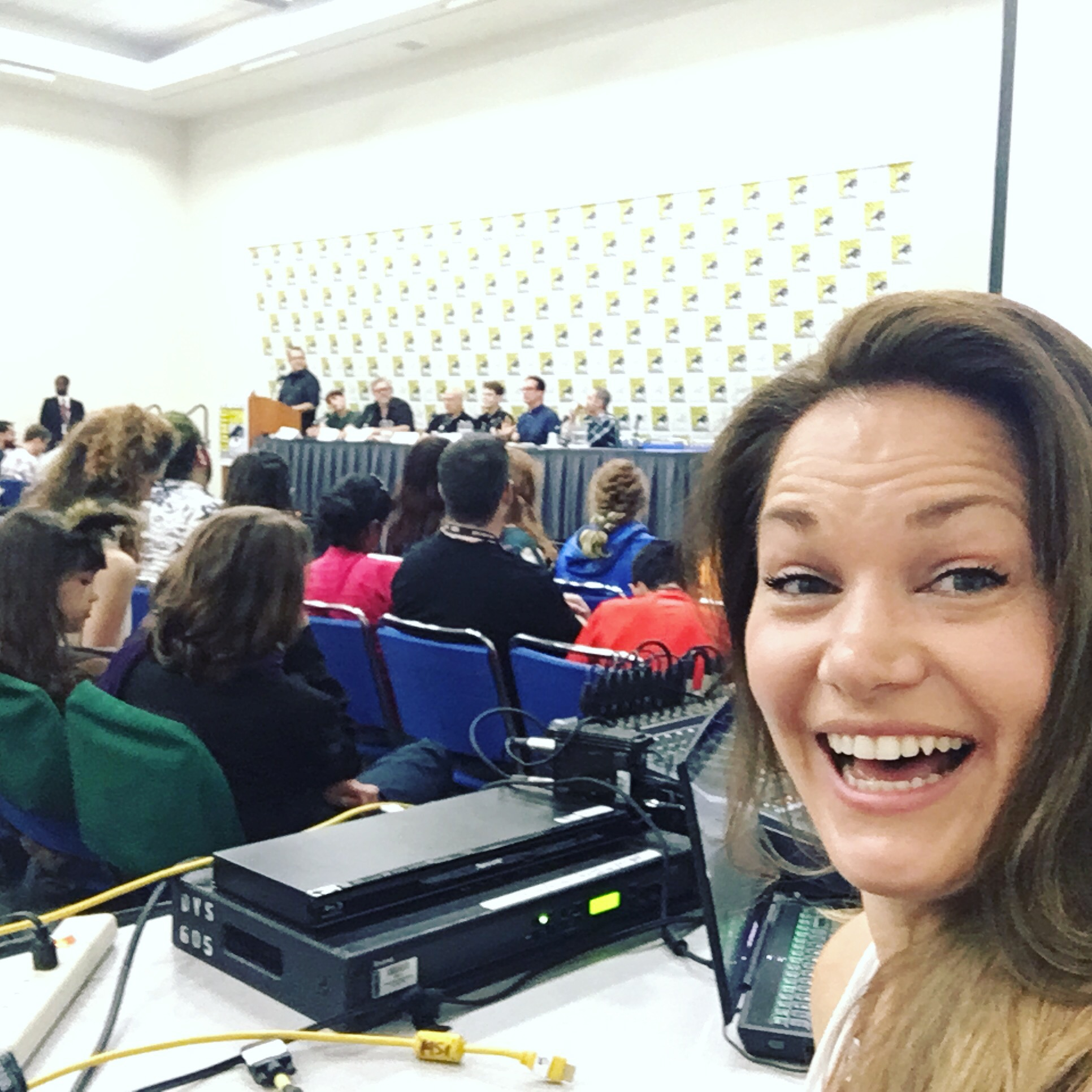 JLA Panel at San Diego Comic Con