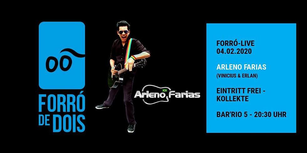 Forró-Live: Arleno Farias
