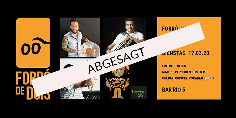 Abgesagt / canceled! Forró-Live: Furdunço