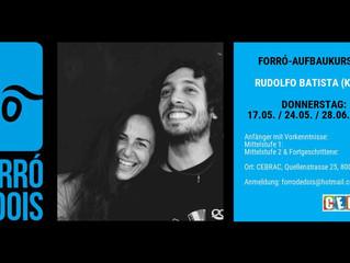 Forró-Aufbaukurs mit Rudolfo