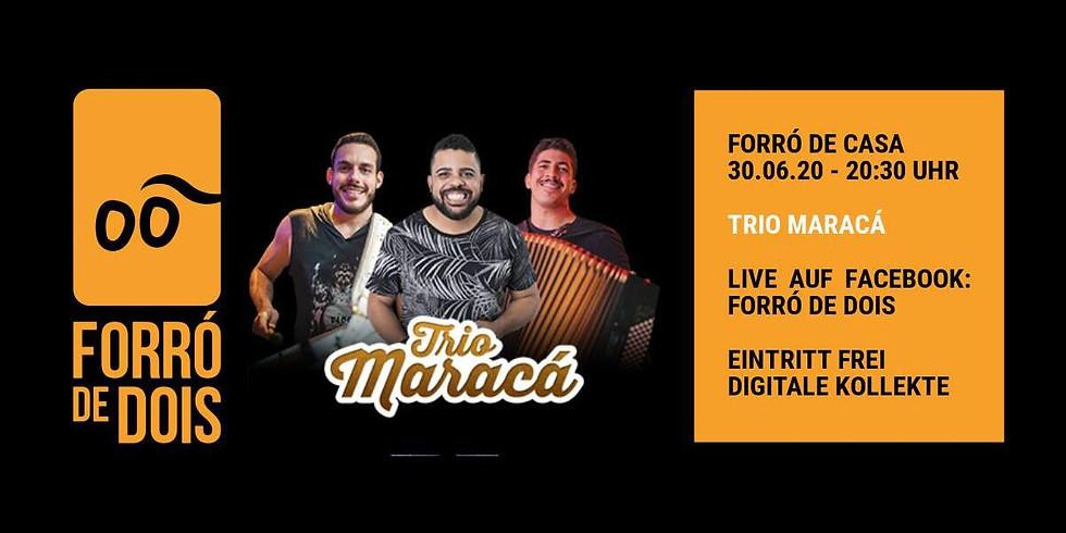 Forró de Casa: DJ Fabricio Bravim, Trio Maracá