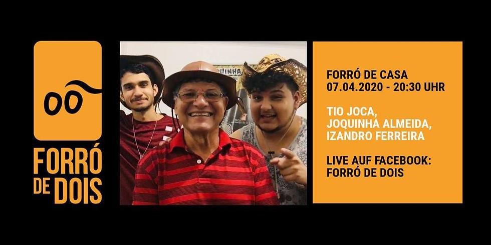 Forró de Casa LIVE - Support the musicians and enjoy it digital!