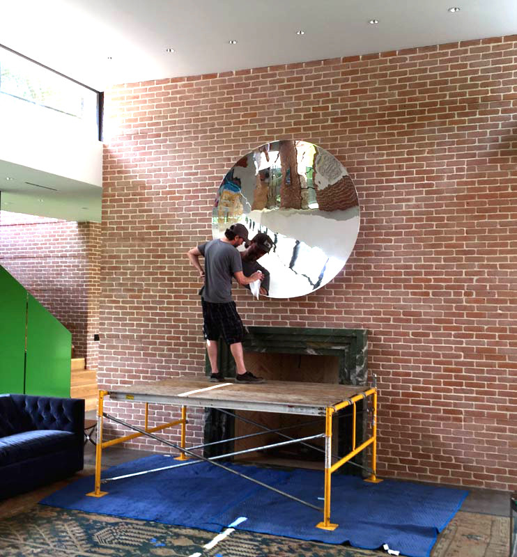 mirror installation