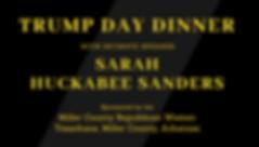 trump day dinner with keynote speaker sa
