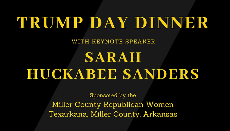 trump day dinner with keynote speaker sa