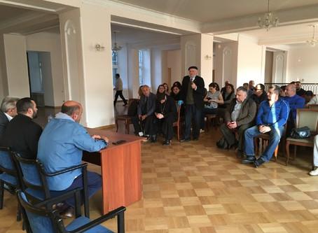 Собрание 27 сентября в армянской общине Санкт-Петербурга
