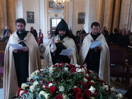 Великая Пятница в церкви Св. Екатерины Санкт-Петербурга