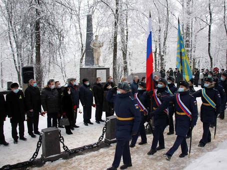 77-ая годовщина освобождения Красного села от фашистской оккупации