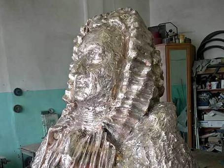 Открытие бюста Иоганна Баха работы Левона Лазарева в Петербурге