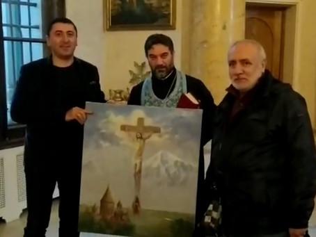 Молчаливый набат тревоги в новых картинах Варужана Епремяна