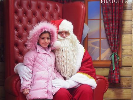 Благотворительная новогодняя программа центра БариХатутик в Ереване