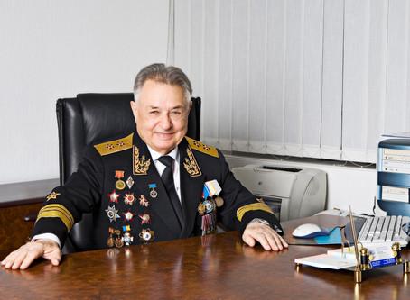 96-летний академик и вице-адмирал А.А. Саркисов награждён высоким орденом РФ