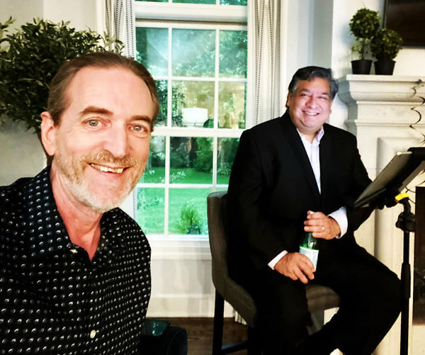Jay EuDaly & Ron Gutierrez at a private party - 7/10/21