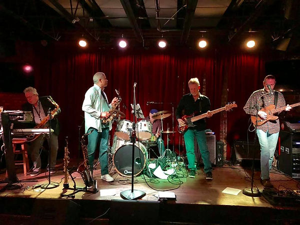 Joe Miquelon, Oscar Polk, Tommy Sutherland, Cliff Eveland & Jay EuDaly at the Levee - March 1, 2019