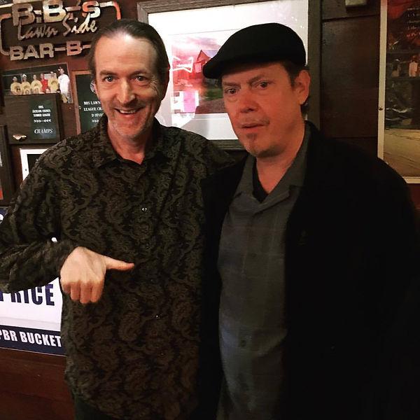Jay EuDaly & guitarist Charles Gatschet @ BBs - October 21, 2017