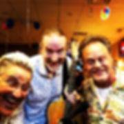Mark Valentine, Jay EuDaly & Stan Kessler @ Estilo Rancho Grill - September 14, 2018