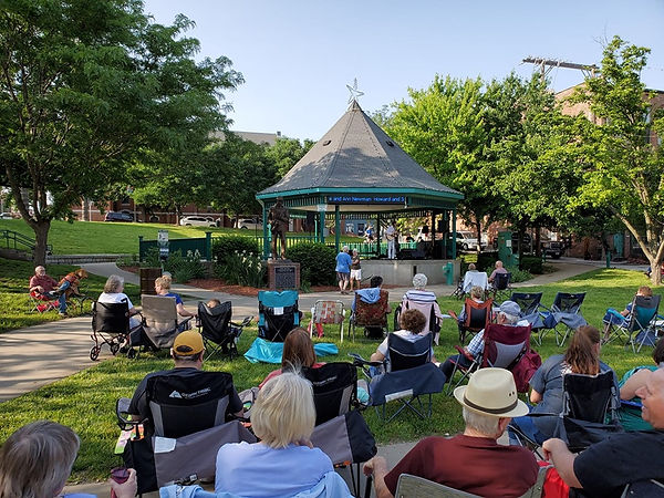 Jay EuDaly solo at Imagine Eleven Summer Concert Series, St. Jo. Mo.