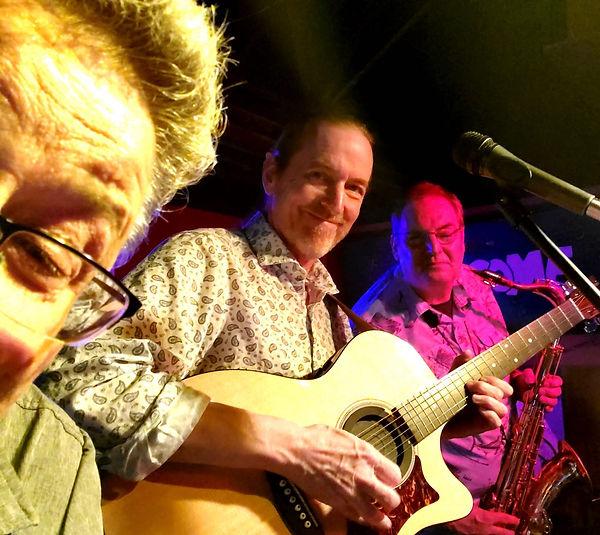 Mark Valentine, Jay EuDaly & Phil Brenner at Jazz Legends - May 24, 2019