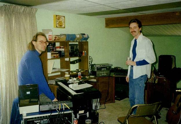 Recording tracks  with Jack Mulligan probably 1992