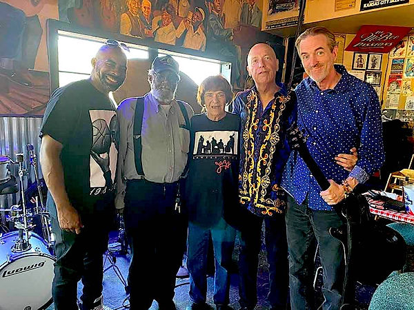 Kevin Johnson, Allen Monroe, Mama Ray, Steve Barrett, Jay EuDaly at BBs - 7/3/21