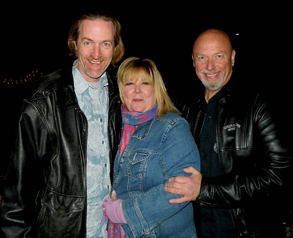 Jay with Jackie & Steve Barrett@ Private Party November 2nd, 2013